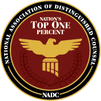 National Association of Distinguished Counsel. NADC Logo